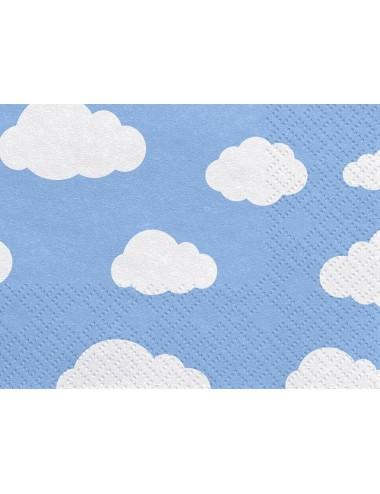 Servetten Wolken (20st)