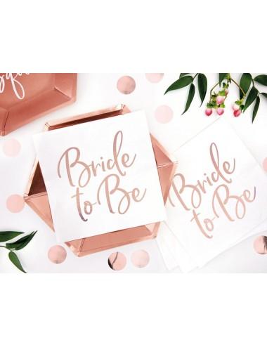 Servetten Bride to Be (20st)