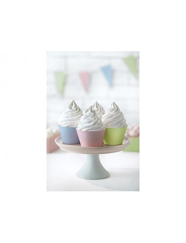 Cupcake Wrappers pastel mix...