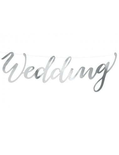 """Slinger """"Wedding"""" zilver"""