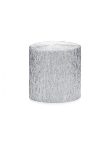 Crêpe slinger zilver