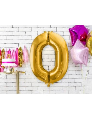 XL Folieballon cijfer goud
