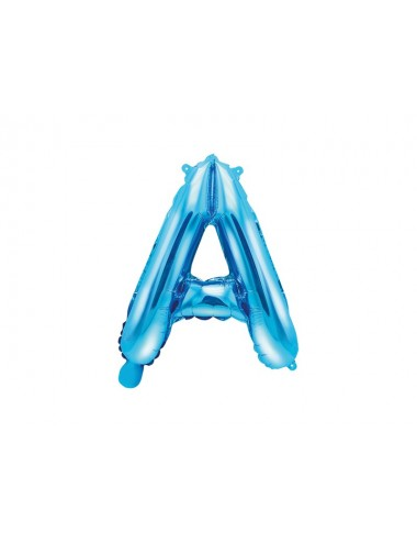 Folieballon letter blauw