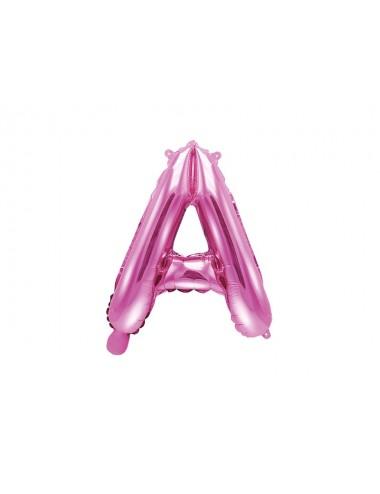 Folieballon letter roze