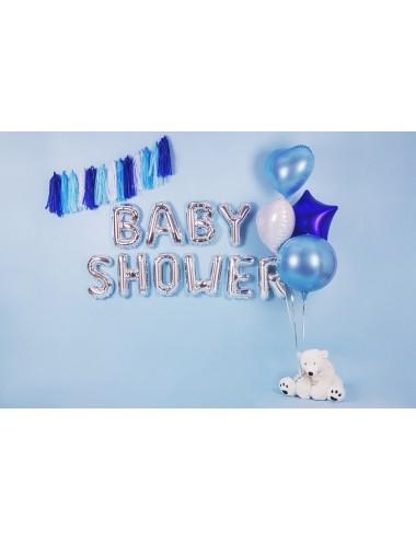Folieballon letter zilver