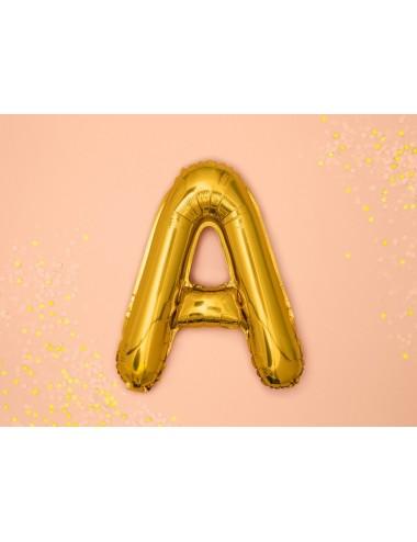 Folieballon letter goud