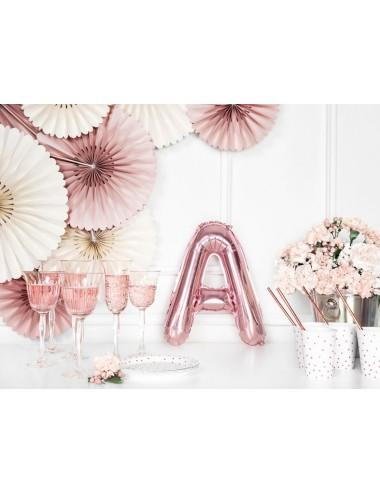 Folieballon letter roségoud