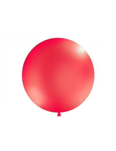 XL Ballon Metallic rood