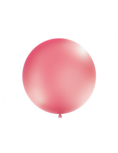 XL Ballon metallic fuchsia