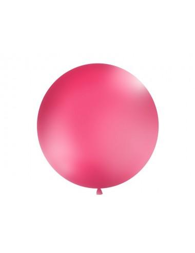 XL Ballon pastel fuchsia