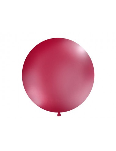XL Ballon pastel burgundy