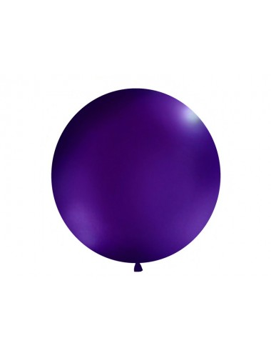 XL Ballon pastel dark violet