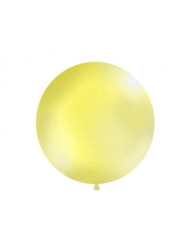 XL Ballon pastel yellow