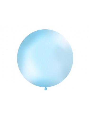 XL Ballon pastel babyblauw