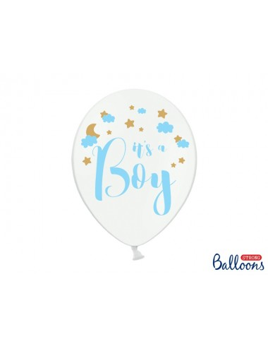 """Ballonnen """"It's a boy""""  (6st)"""