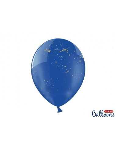 "Ballonnen ""Splash"" blauw (6st)"