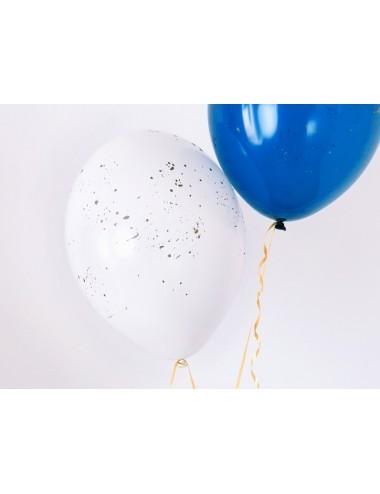 "Ballonnen ""Splash"" wit (6st)"