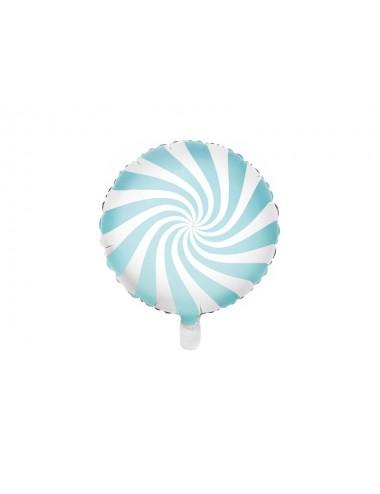 Folieballon snoep blauw