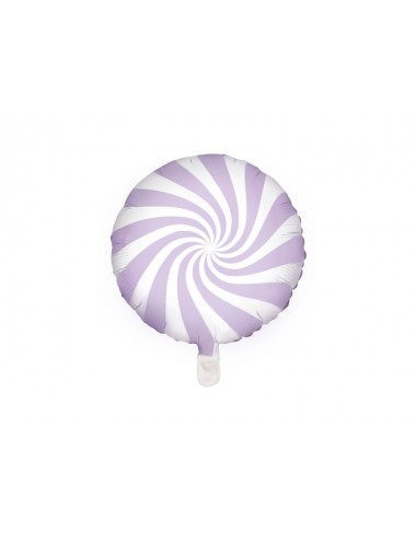 Folieballon snoep paars