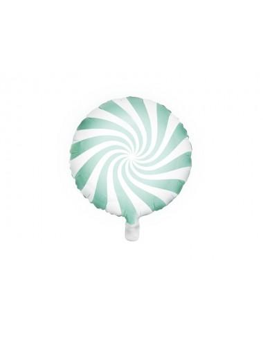 Folieballon snoep mint