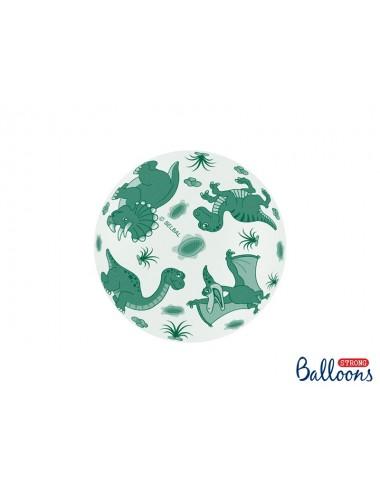 """Ballonnen """"Dino"""" (6st)"""