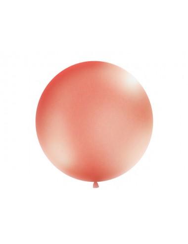 XL Ballon metallic roségoud