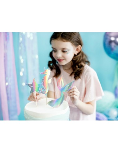 "Cake toppers ""Mermaid"" (3st)"