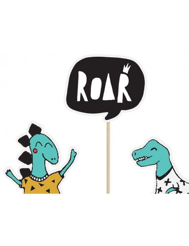 """Cake toppers """"Dino"""" (5st)"""
