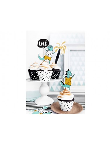 "Cake toppers ""Dino"" (5st)"