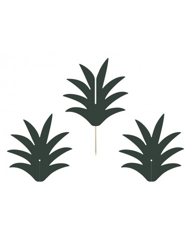 """Cake toppers """"Ananas"""" (6st)"""