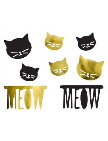 "Decoratie ""Meow"""