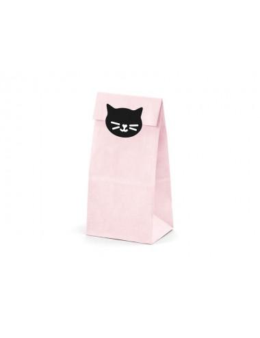 "Uitdeelzakjes ""Meow"" (6st)"