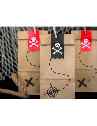 "Uitdeelzakjes ""Piraat"" (6st)"