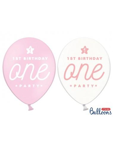 """Ballonnen mix """"One"""" (6st)"""