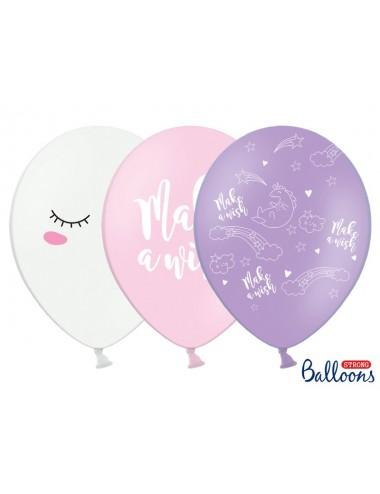 "Ballonnen mix ""Unicorn"" (6st)"