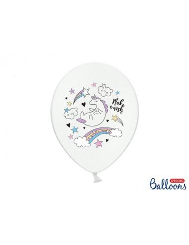 "Ballonnen ""Unicorn"" (6st)"
