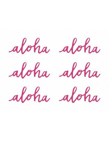 Decoratie Aloha (6st)