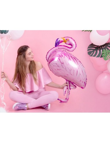 Folieballon Flamingo