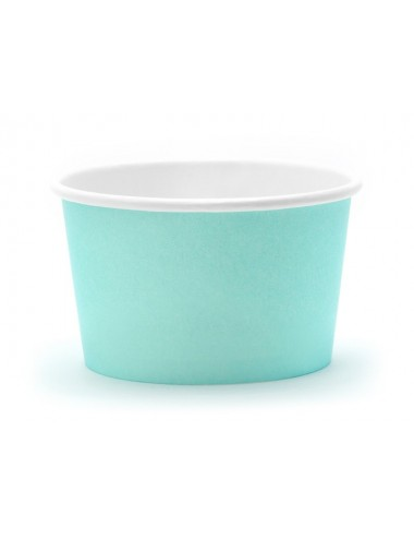 Ijsbakjes turquoise (6st)