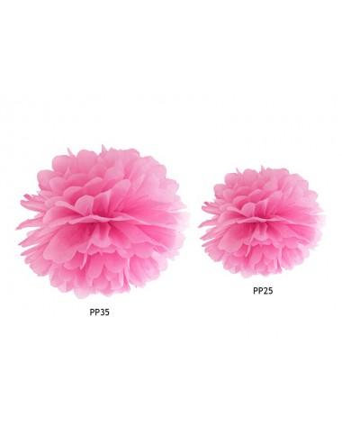 Pompom roze
