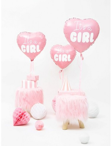 "Folieballon ""It's a girl"""