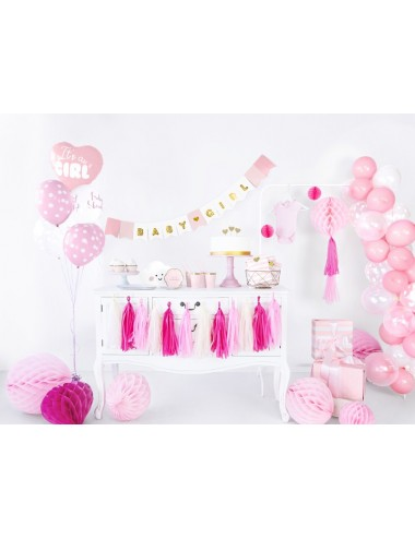 "Ballonnen ""Babyshower"" roze..."