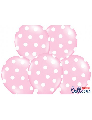 Ballonnen roze met witte...