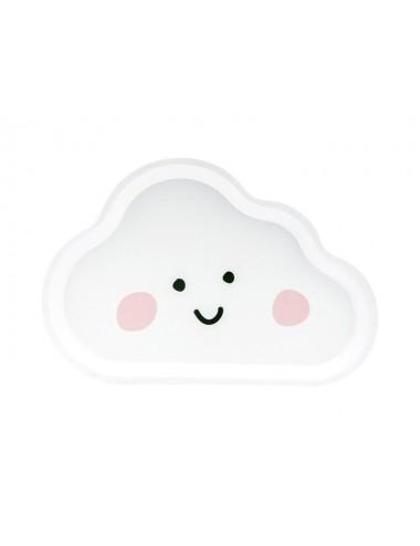 Papieren bordjes wolken (6st)