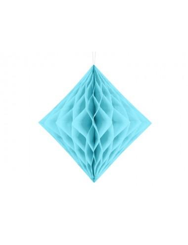 Honeycomb diamant lichtblauw