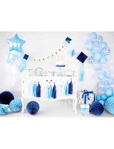 Honeycomb diamant blauw