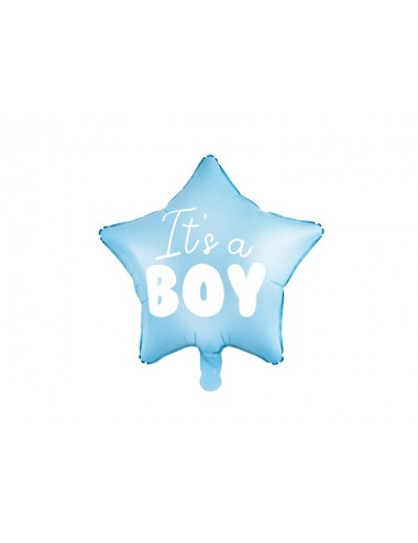 "Folieballon ""It's a boy"""