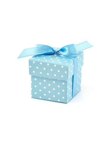 Boxjes blauw (10st)
