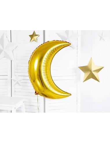 Folieballon maan goud