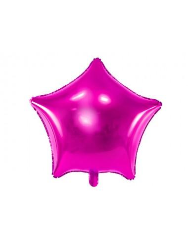 Folieballon ster / 9 verschillende kleuren